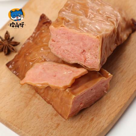 【哈卤呀】豆包鸡腿260g豆腐卷鸡腿肉油皮卷鸡肉网红即食零食批发