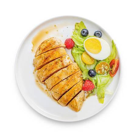 【领劵立减20元】小牛凯西香煎鸡排肉20片汉堡鸡胸肉(赠送刀叉+酱料)