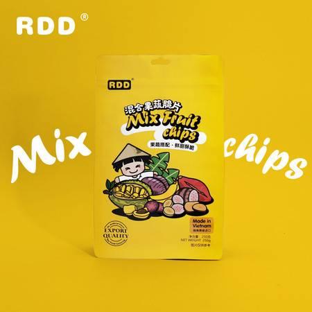 RDD 越南进口混合果蔬干100g果脯综合脆片网红零食休闲小吃水果干