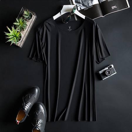 MILMUMU男士羊奶丝T恤 夏季降温短T