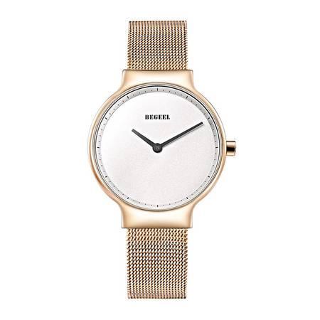 宾爵时尚手表进口机芯女表简约女士手表优雅石英女表防水女石英表