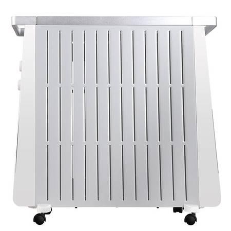 美的/MIDEA 油汀电暖器13片电热防烫静音节能取暖器家用 NY2213-17BR(电脑触屏款)