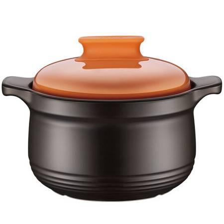 苏泊尔砂锅石锅盖无双新陶养生煲深汤煲陶瓷煲4.5L TB45H1