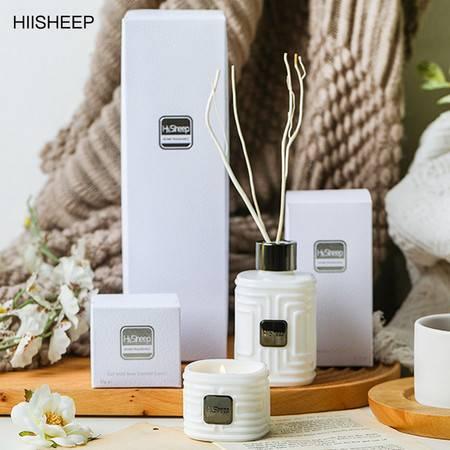 HIISHEEP香薰精油蜡烛熏香家用卧室持久房间厕所空气清新剂除臭