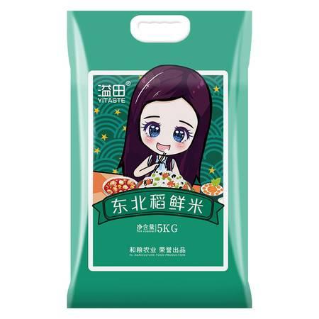 溢田 东北新米黑土稻鲜米大米5kg新米黑龙江特产粳米10斤