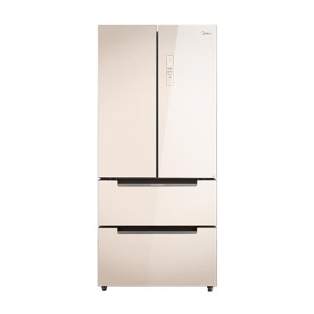【苏宁专供】美的冰箱BCD-516WGPM极地金