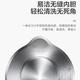 美的(Midea)电热烧水壶家用304不锈钢全自动断电水瓶HJ1522    1.5L大容量