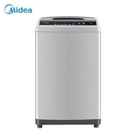 美的(Midea) 全自动波轮洗衣机8kg家用大容量租房洗脱一体MB80Q10