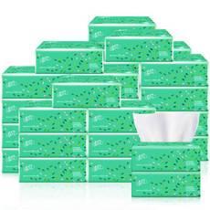 清风抽纸3层100抽家庭用实惠装抽取式餐巾纸面巾纸3包体验装