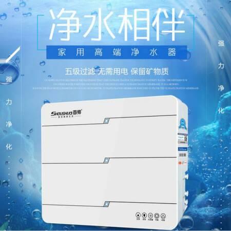 首帅(SHOUSHUAI) 首帅净水器五级超滤净水机(SS-UF1-500白色)