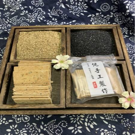 安徽博望林春和民间传统手工制作芝麻烘糕230克*2盒
