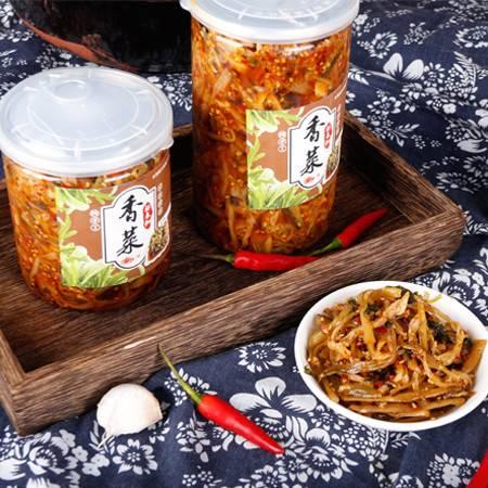 安徽·博望非遗文化林春和纯手工腌制香菜500克*2
