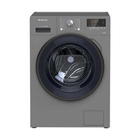格力洗衣机 XQG80-B1401Ac1顶(银灰色)8KG亲民版灰