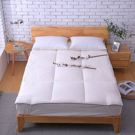 朵西娜 全棉面料棉花垫被床垫褥子1.5米1.8m单双人纯棉学生宿舍加厚床褥子