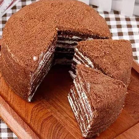 【48小时内发货】俄罗斯双山风味提拉米苏 蜂蜜奶油千层蛋糕奶油早点方便零食450克