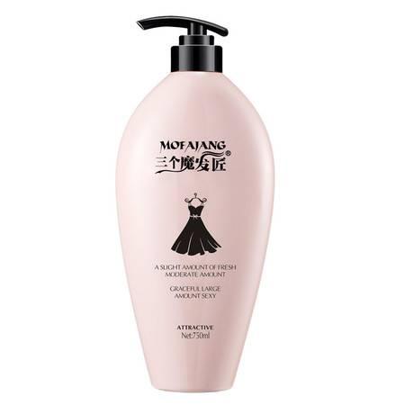三个魔发匠 香味持久留香男女去屑止痒控油洗头发露黑裙洗发水750ml