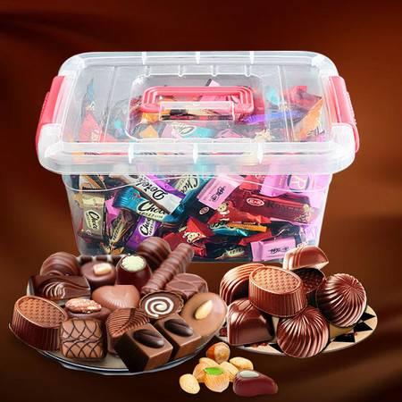 巧克力1000g超实惠/500g带收纳盒/200g体验 多款口味