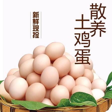 【坏蛋包赔】40枚农村正宗土鸡蛋草鸡蛋柴鸡蛋农家散养新鲜笨鸡蛋孕妇鸡蛋