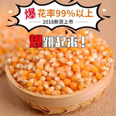 2斤球形蝶形爆裂小玉米粒爆米花专用玉米粒爆花玉米原料批发