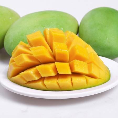 庭燕庄青芒果【3斤装】新鲜当季水果芒果 香甜美味 单果200-800g