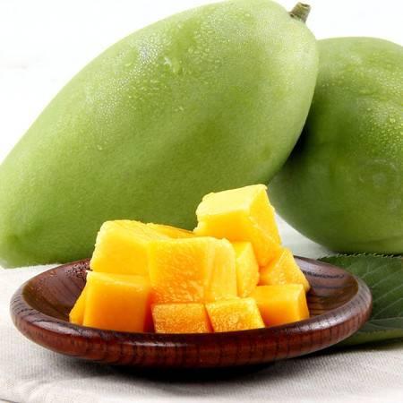 越南进口大芒果3斤装(单果200-800g)新鲜水果玉芒青芒果批发