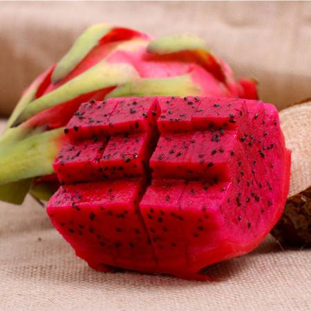 【果荟】越南红心火龙果3个装 单果约350-400g 进口热带新鲜水果