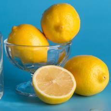 四川安岳新鲜黄柠檬2斤(单果90g以上)基地供应新鲜直达