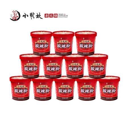 小龙坎12桶装酸辣粉粗粉条红薯粉丝方便速食四川重庆麻辣
