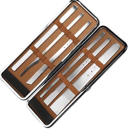 张小泉专业修脚刀6件套日本进口钢不锈钢修脚刀去老茧死皮修脚铲