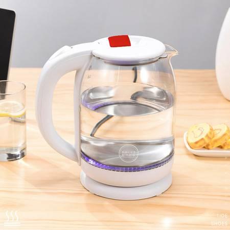 艾美特 玻璃快水壶 CS1815B烧水壶热水壶