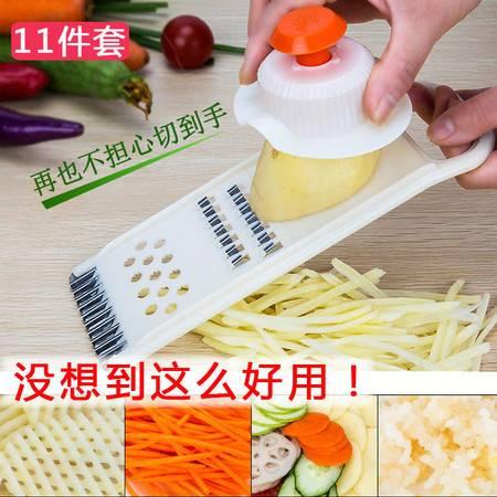 土豆丝切丝器多功能切菜器擦子萝卜切片护手擦刨丝器厨房用品神器