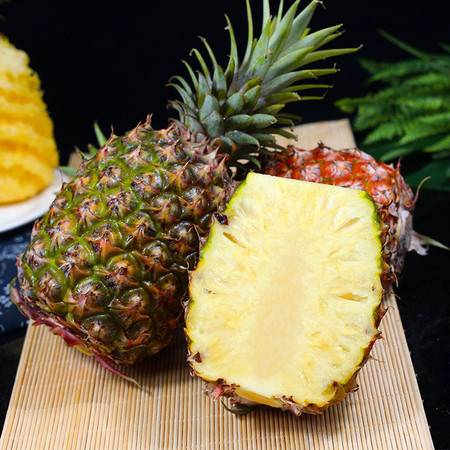 【每日精选】香甜多汁10斤金钻凤梨现摘新鲜水果手撕无眼非海南菠萝5斤