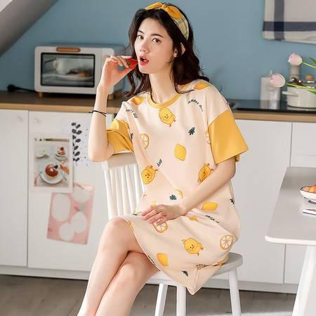 春夏女睡衣睡裙韩版风少女睡裙甜美可爱可外穿家居服夏可爱公主风