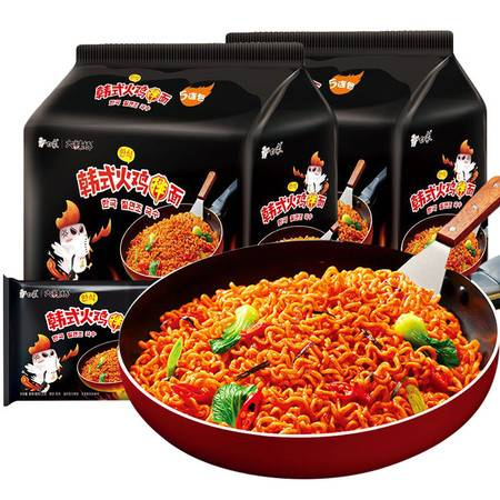 白象方便面国产韩式火鸡面特辣速食泡面干吃拌面条