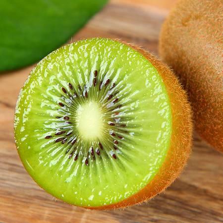 现摘绿心猕猴桃新鲜水果应季狝猴桃奇异果弥胡桃15粒单果60-80g