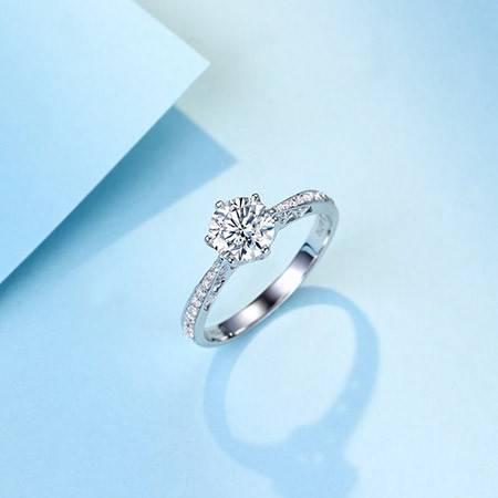 佐卡伊 注定的爱 18k钻石戒指