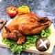 【邮特惠】河北特色烧鸡大午熏鸡整只600g真空包装鸡肉类食品开袋即食河北特产烧鸡熟食