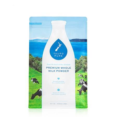 【邮政跨境进口】TaupoPure 新西兰 特贝优调制乳粉(全脂)1kg