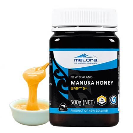 【邮政跨境进口】新西兰Melora纽优然牌麦卢卡蜂蜜UMF5+ 500g