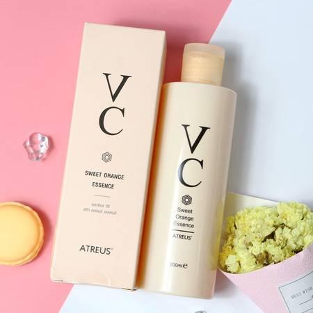 【泰国正品】Atreus vc甜橙精华液面部控油保湿补水提亮维C200ml