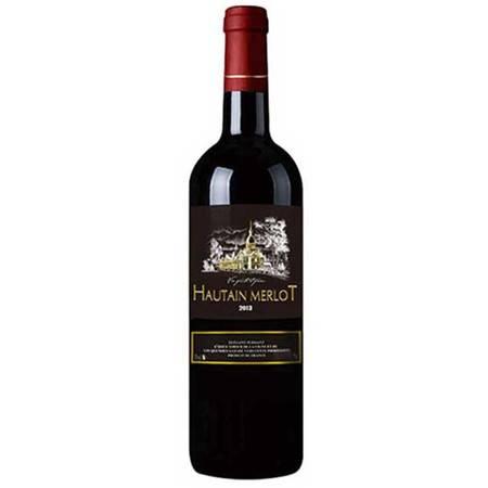 【法国原瓶进口红酒】圣尚·奥丁·美乐干红葡萄酒750ml*1