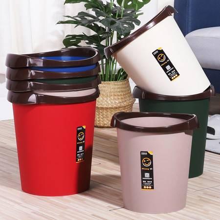 2020新款家用垃圾桶大号无盖简约压圈大号纸篓办公室客厅厨房厕所