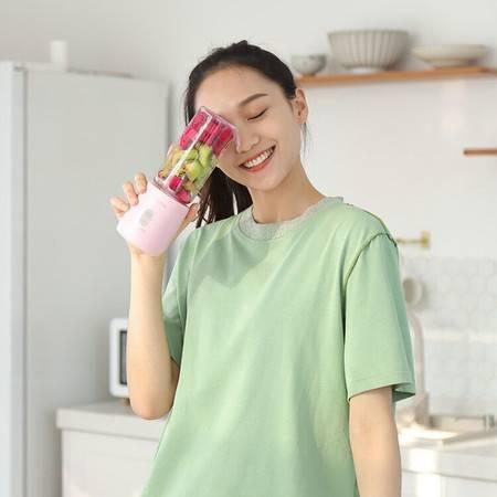 志高果汁饮料榨汁机家用小型便携式电动水果蔬榨汁杯充电迷你网红炸果汁机【博莱电器】