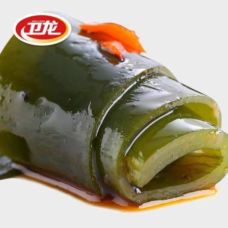 卫龙风吃海带丝开袋即食海藻麻辣小包海味零食辣条解饿魔芋爽整箱