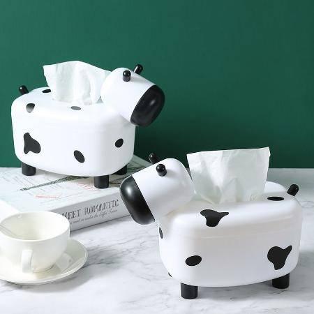 抽纸盒家客厅用网红可爱车载纸巾盒创意多功能带牙签盒餐巾纸抽盒
