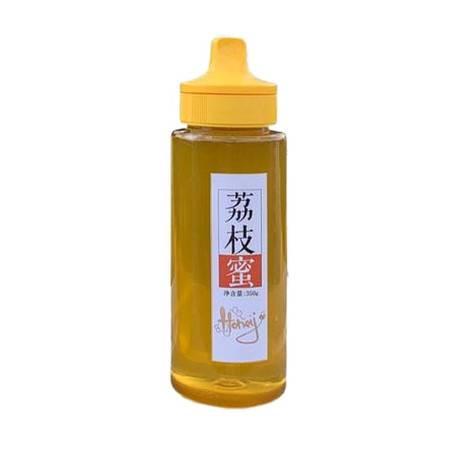 蜂蜜荔枝蜜瓶装正宗农家直销野生蜂蜜甜品零食【属之味】