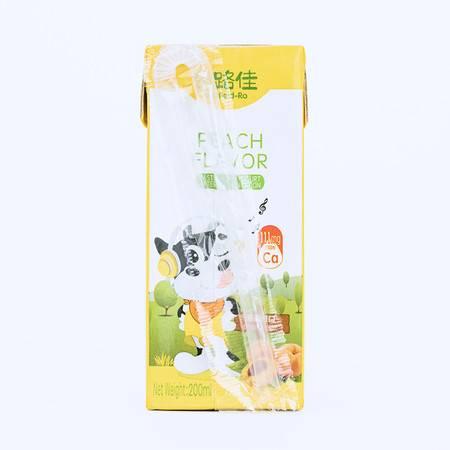 田路佳德国原装进口黄桃味酸奶200ml*12包装自用实惠多多