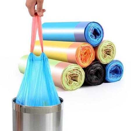 【领券立减5元】垃圾袋家用加厚分类抽绳背心手提式一次性宿舍塑料袋