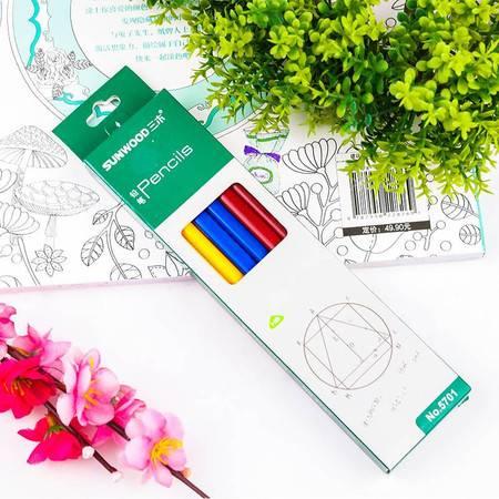 三木(SUNWOOD) 铅笔12支装文具学习用品