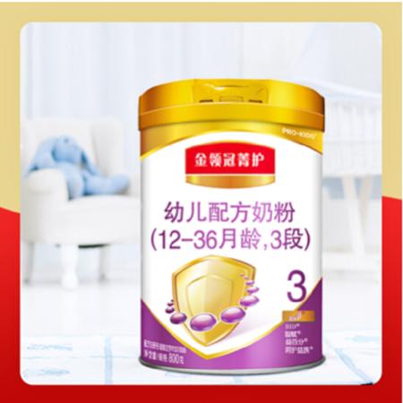 伊利金领冠菁护幼儿配方奶粉3段800g